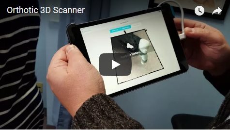 Orthotic 3D Scanner